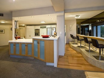 Floorboards in a kitchen design from an Australian home - Kitchen Photo 462498