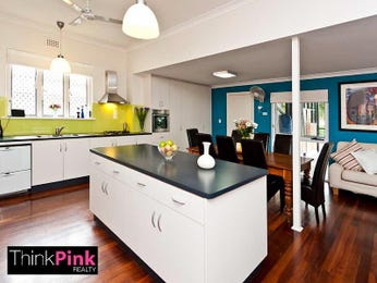 Floorboards in a kitchen design from an Australian home - Kitchen Photo 831953