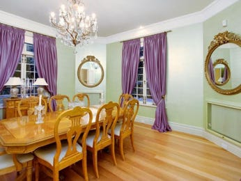 Green dining room idea from a real Australian home - Dining Room photo 7618397