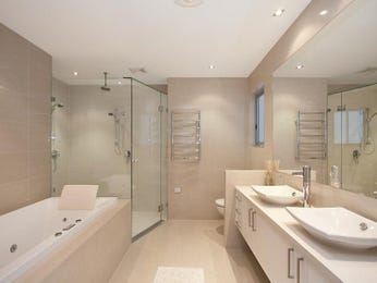 Bathroom Ideas With Decorative Lighting And Down Lighting
