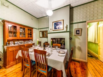 Green dining room idea from a real Australian home - Dining Room photo 6907493
