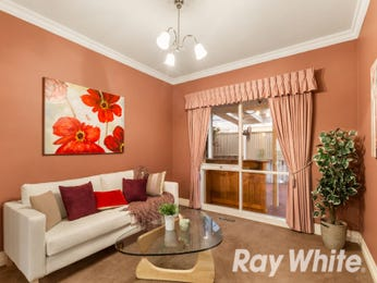 Pink living room idea from a real Australian home - Living Area photo 16924153