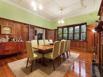 Green dining room idea from a real Australian home - Dining Room photo 7280009