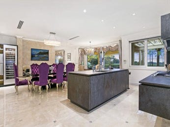 Purple dining room idea from a real Australian home - Dining Room photo 8276325