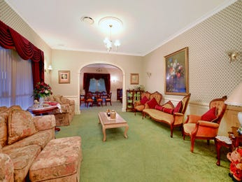 Green living room idea from a real Australian home - Living Area photo 8082461