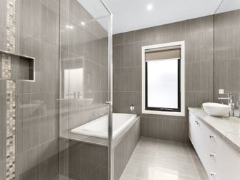 Ceramic in a bathroom design from an Australian home - Bathroom Photo 16652085