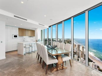 Modern dining room idea with glass & floor-to-ceiling windows - Dining Room Photo 8358165