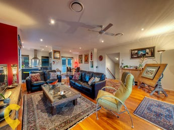 Blue living room idea from a real Australian home - Living Area photo 15535789