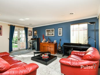 Blue living room idea from a real Australian home - Living Area photo 15999637