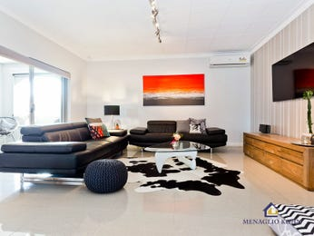 Black living room idea from a real Australian home - Living Area photo 14999409