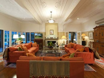 Brown living room idea from a real Australian home - Living Area photo 384102