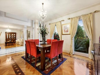 Red dining room idea from a real Australian home - Dining Room photo 8950485