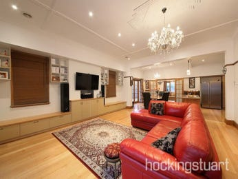 Red living room idea from a real Australian home - Living Area photo 16011125
