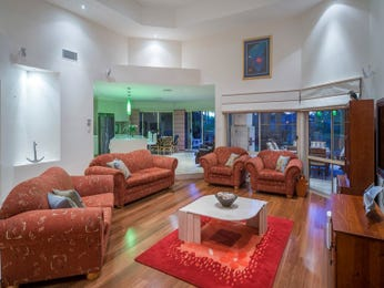 Green living room idea from a real Australian home - Living Area photo 8647289