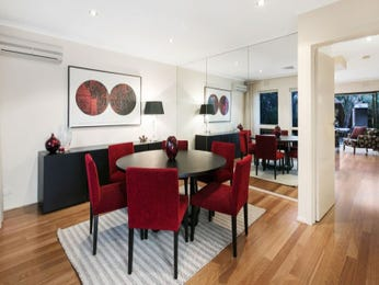 Red dining room idea from a real Australian home - Dining Room photo 16815353