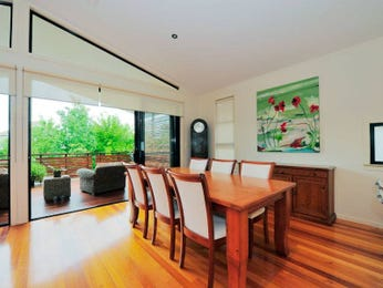 Brown dining room idea from a real Australian home - Dining Room photo 346318