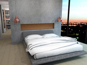 Grey bedroom design idea from a real Australian home - Bedroom photo 15244293