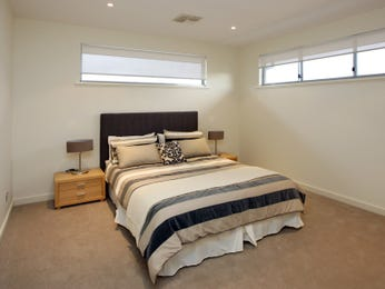 Beige bedroom design idea from a real Australian home - Bedroom photo 260207