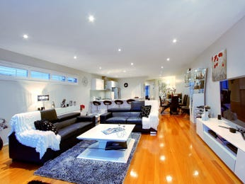 Black living room idea from a real Australian home - Living Area photo 7366357