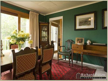 Brown dining room idea from a real Australian home - Dining Room photo 471534