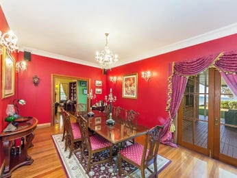 Red dining room idea from a real Australian home - Dining Room photo 8701201