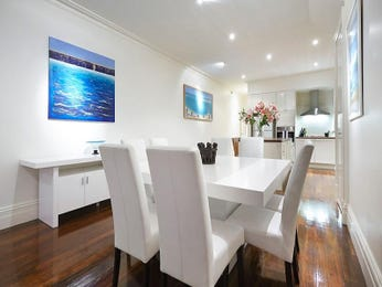 Blue dining room idea from a real Australian home - Dining Room photo 7675621