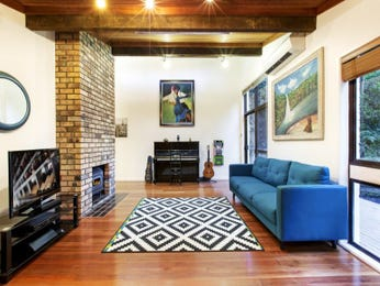 Blue living room idea from a real Australian home - Living Area photo 16107905