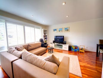 Brown living room idea from a real Australian home - Living Area photo 626314