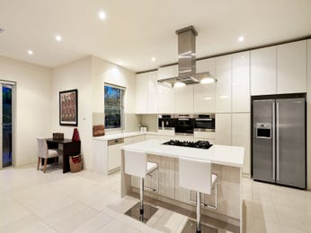 Side-by-side fridge in a kitchen design from an Australian home - Kitchen Photo 7478953