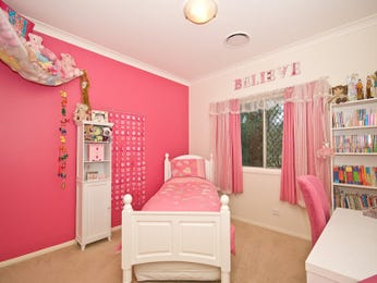 Pink bedroom design idea from a real Australian home - Bedroom photo 513224