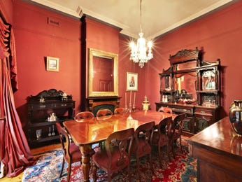 Red dining room idea from a real Australian home - Dining Room photo 7833849