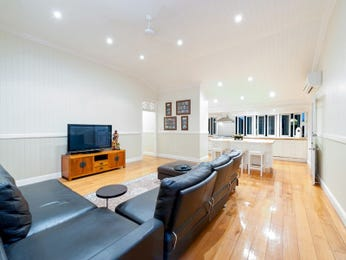Black living room idea from a real Australian home - Living Area photo 7358085