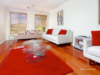 Red living room idea from a real Australian home - Living Area photo 15704593