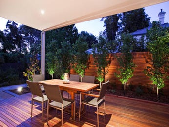 Outdoor living design with outdoor dining from a real Australian home - Outdoor Living photo 552539