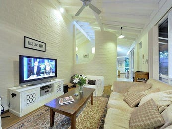 Beige living room idea from a real Australian home - Living Area photo 1539846