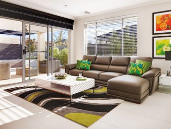 Black living room idea from a real Australian home - Living Area photo 16144513