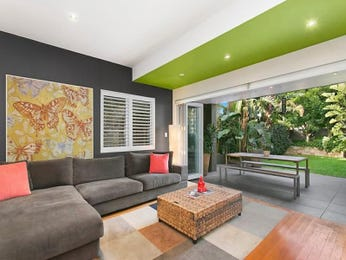 Green living room idea from a real Australian home - Living Area photo 8285913