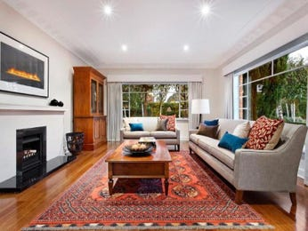 Brown living room idea from a real Australian home - Living Area photo 957955