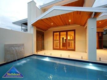 Freeform pool design using glass with decking & decorative lighting - Pool photo 269824