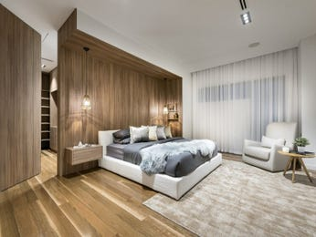 Brown bedroom design idea from a real Australian home - Bedroom photo 17087529