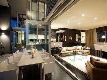 Modern dining room idea with tiles & bar/wine bar - Dining Room Photo 271271