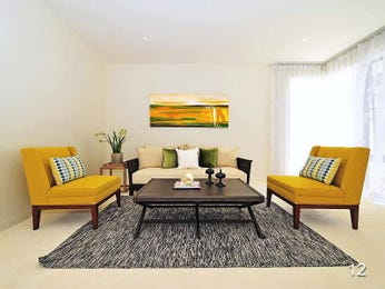 Gold living room idea from a real Australian home - Living Area photo 7421713