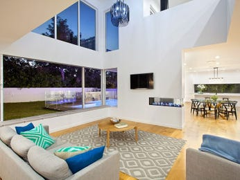 Blue living room idea from a real Australian home - Living Area photo 15103445