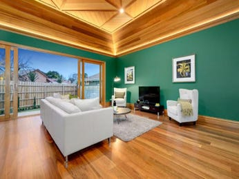 Green living room idea from a real Australian home - Living Area photo 8871817