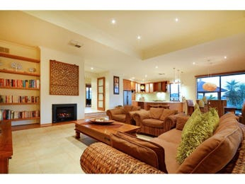 Red living room idea from a real Australian home - Living Area photo 8721237