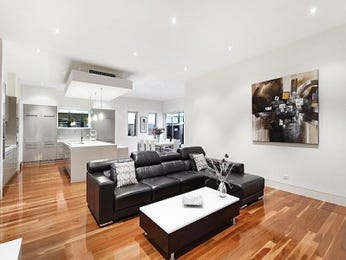 Grey living room idea from a real Australian home - Living Area photo 1186766
