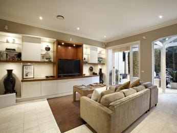 Brown living room idea from a real Australian home - Living Area photo 1181044