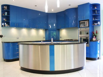 Laminate in a kitchen design from an Australian home - Kitchen Photo 1012054