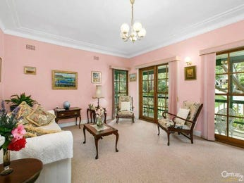 Pink living room idea from a real Australian home - Living Area photo 8519453