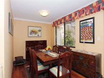 Classic dining room idea with floorboards & fireplace - Dining Room Photo 1035951